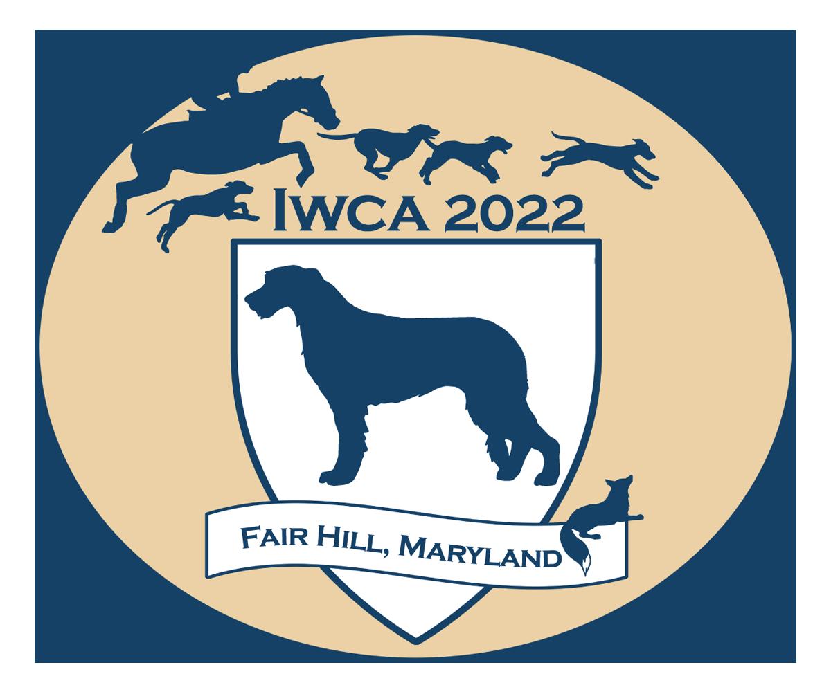 Logo for IWCA 2022 Specialty, Fair Hill, Maryland